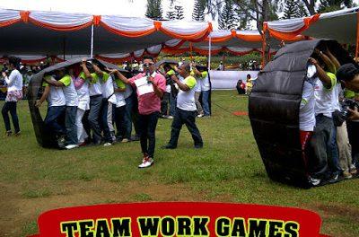 Permainan Team Work yang Fun !