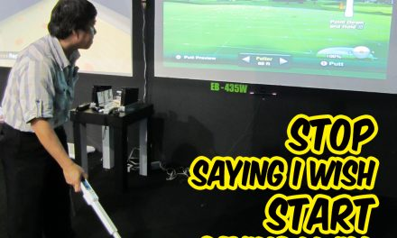 Sewa Permainan Virtual Golf