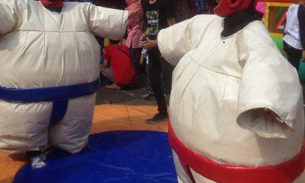 Permainan Sumo, fight, seru dan lucu