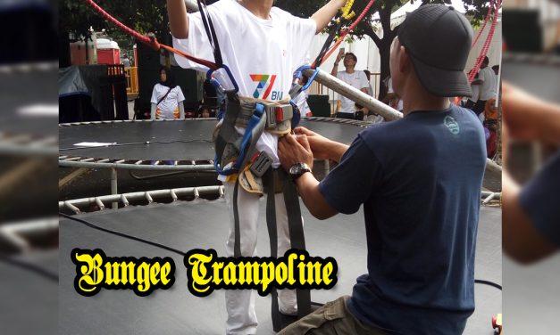 Sewa Bungy Trampolin, menantang dan seru!
