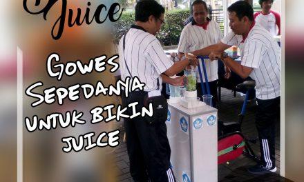 Bersepeda Sambil Membuat Jus? Ya Bike to Juice!