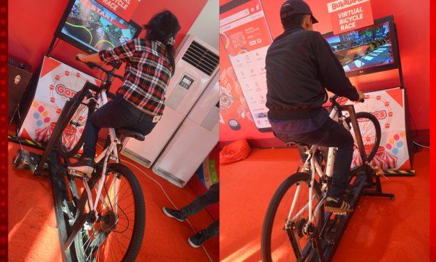 Balap Sepeda dengan Permainan Sepeda Virtual!