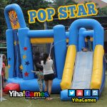 Playground Balon, Popstar Inflatable