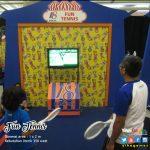 Olahraga Tenis, Di Tengah Acara