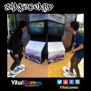 Permainan Skateboard Virtual