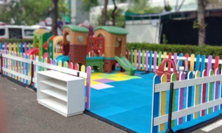 Playground Anak, Bikin Tenang